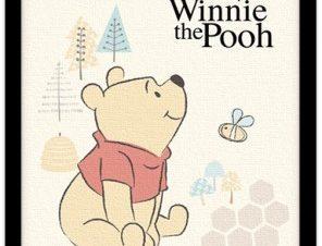 Γλυκός Winnie the pooh! Παιδικά Πίνακες σε καμβά 20 x 30 εκ.