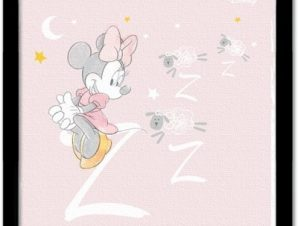 Zzzzzz, Minnie Mouse! Παιδικά Πίνακες σε καμβά 40 x 40 εκ.