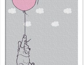 Ο Winnie πετάει, Winnie the Pooh Παιδικά Πίνακες σε καμβά 20 x 30 εκ.