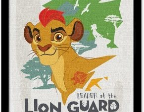 Kion,The Lion Guard Παιδικά Πίνακες σε καμβά 20 x 30 εκ.