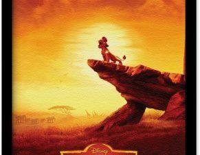 Sunset,The Lion Guard Παιδικά Πίνακες σε καμβά 20 x 30 εκ.