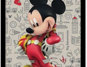 Ο οδηγός Mickey Mouse! Παιδικά Πίνακες σε καμβά 20 x 30 εκ.