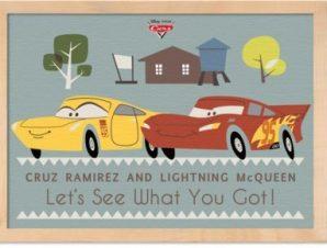 McQueen and Cruz Ramirez!! Παιδικά Πίνακες σε καμβά 30 x 20 εκ.