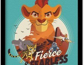 Fierce & Fearless, The Lion Guard Παιδικά Πίνακες σε καμβά 20 x 30 εκ.