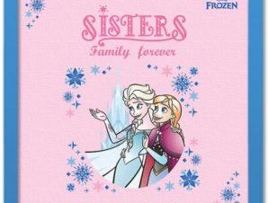 Sisters family forever! Παιδικά Πίνακες σε καμβά 40 x 40 εκ.