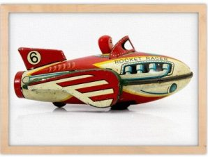 Rocket Racer Παιδικά Πίνακες σε καμβά 30 x 20 εκ.