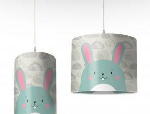 Λαγουδάκι Παιδικά Φωτιστικά οροφής Ø 25 x 40 cm
