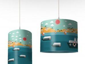 Λιμανάκι Παιδικά Φωτιστικά οροφής Ø 25 x 40 cm