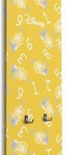 Κίτρινο μοτίβο με νούμερα, Mickey Παιδικά Κρεμάστρες & Καλόγεροι 45 x 138 εκ.