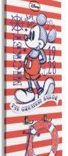 Κόκκινες ρίγες, Mickey Παιδικά Κρεμάστρες & Καλόγεροι 45 x 138 εκ.