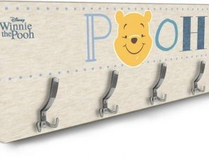 Face of Winnie the Pooh Παιδικά Κρεμάστρες & Καλόγεροι 138 x 45 εκ.