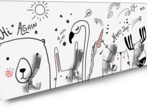 Animals Παιδικά Κρεμάστρες & Καλόγεροι 138 x 45 εκ.