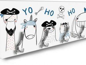 Pirate Animals Παιδικά Κρεμάστρες & Καλόγεροι 138 x 45 εκ.