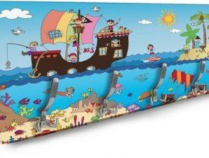 Pirate island Παιδικά Κρεμάστρες & Καλόγεροι 138 x 45 εκ.