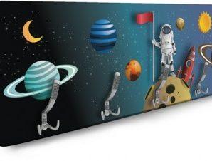 Spaceman Παιδικά Κρεμάστρες & Καλόγεροι 138 x 45 εκ.
