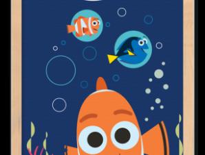 Nemo Παιδικά Πίνακες σε καμβά 20 x 30 εκ.