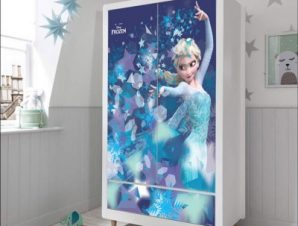 Μαγεμένη Έλσα, Frozen Παιδικά Αυτοκόλλητα ντουλάπας 100 x 100 εκ.