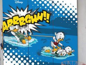 ARRRGHH! Donald Duck Παιδικά Αυτοκόλλητα ντουλάπας 100 x 100 εκ.