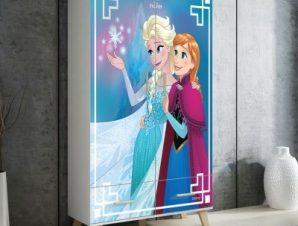 Χαρούμενες αδρεφές, Frozen Παιδικά Αυτοκόλλητα ντουλάπας 100 x 100 εκ.