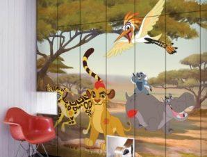 Ο Κίων και οι φίλοι του, Lion Guard! Παιδικά Αυτοκόλλητα ντουλάπας 100 x 100 εκ.