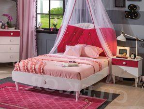 Παιδικό κρεβάτι ημίδιπλο RB-1314 – RB-1314