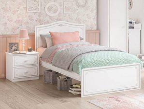 Παιδικό κρεβάτι ημίδιπλο SE-GREY-1302 – SE-GREY-1302