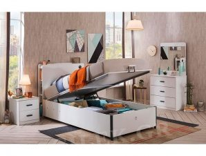 Παιδικό κρεβάτι με αποθηκευτικό χώρο WH-1705 USB CHARGING – WH-1705 USB CHARGING