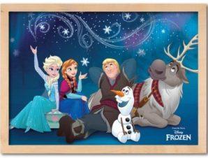 Η παρέα της Frozen! Παιδικά Πίνακες σε καμβά 30 x 20 εκ.