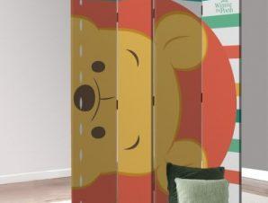 Face Winnie the Pooh Παιδικά Παραβάν 80 x 180 εκ. [Δίφυλλο]