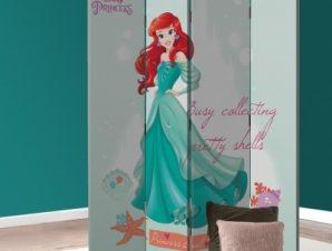 Ariel, Busy Collective Princess! Παιδικά Παραβάν 80 x 180 εκ. [Δίφυλλο]
