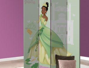 Tiana, Busy Princess Παιδικά Παραβάν 80 x 180 εκ. [Δίφυλλο]