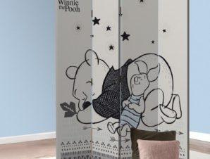Sleepy Winnie! Παιδικά Παραβάν 80 x 180 εκ. [Δίφυλλο]