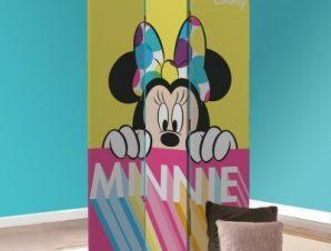Γειά σου Minnie! Παιδικά Παραβάν 80 x 180 εκ. [Δίφυλλο]