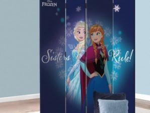 Οι αδερφές Έλσα και Άννα, Frozen Παιδικά Παραβάν 80 x 180 εκ. [Δίφυλλο]