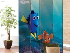 Dory and Nemo , Finding Dory Παιδικά Παραβάν 80 x 180 εκ. [Δίφυλλο]