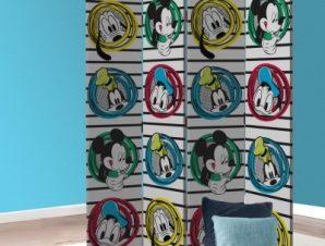 Donald Duck, Pluto, Goofy, Mickey Mouse Παιδικά Παραβάν 80 x 180 εκ. [Δίφυλλο]