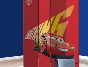 Lightning McQueen Παιδικά Παραβάν 80 x 180 εκ. [Δίφυλλο]