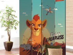 Fierce and Fearless, Lion Guard Παιδικά Παραβάν 80 x 180 εκ. [Δίφυλλο]