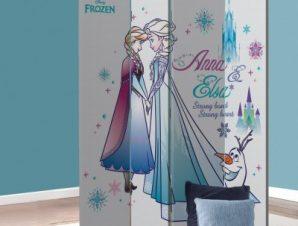 Αγαπημένες αδερφές , Frozen Παιδικά Παραβάν 80 x 180 εκ. [Δίφυλλο]