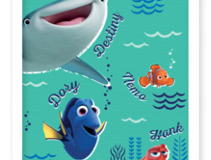 Στο βυθό με τον Nemo! Παιδικά Πίνακες σε καμβά 20 x 30 εκ.