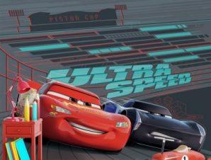 Μεγάλη ταχύτητα Παιδικά Ταπετσαρίες Τοίχου 100 x 100 εκ.