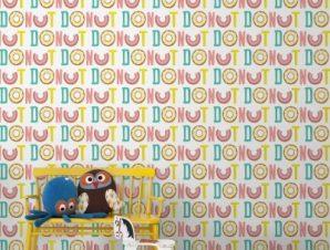 Donut Παιδικά Ταπετσαρίες Τοίχου 100 x 100 εκ.