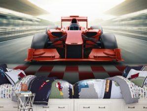 Formula1 Παιδικά Ταπετσαρίες Τοίχου 100 x 100 εκ.