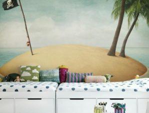 Πειρατικό νήσι Παιδικά Ταπετσαρίες Τοίχου 81 x 120 cm