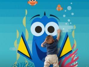 Dory! Παιδικά Ταπετσαρίες Τοίχου 100 x 100 εκ.