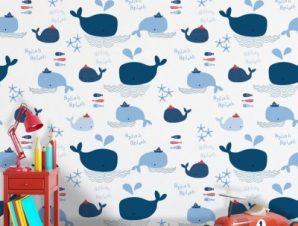 Splish Splash, Mickey Mouse Παιδικά Ταπετσαρίες Τοίχου 100 x 100 εκ.