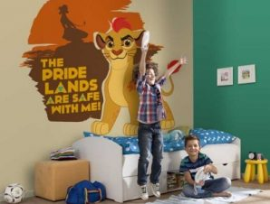 The pride lands are safe with Kion, The Lion Guard Παιδικά Ταπετσαρίες Τοίχου 100 x 100 εκ.
