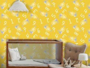 Μετρώντας προβατάκια! Παιδικά Ταπετσαρίες Τοίχου 100 x 100 εκ.