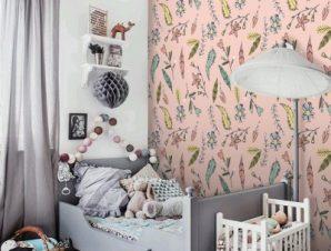 Boho μοτίβο, Μinnie Mouse! Παιδικά Ταπετσαρίες Τοίχου 100 x 100 εκ.