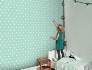 Βεραμάν πουά μοτίβο, Πριγκίπισσες! Παιδικά Ταπετσαρίες Τοίχου 100 x 100 εκ.